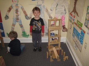 Fun with building blocks